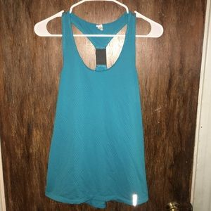 Under Armour teal racerback workout tank